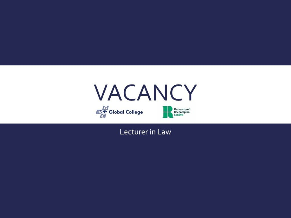 Vacancy – Law